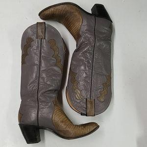Vintage Justin Ladies Cowboy Boots